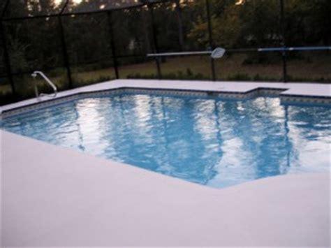 pool deck paint rejuvenate  pool deck intheswim