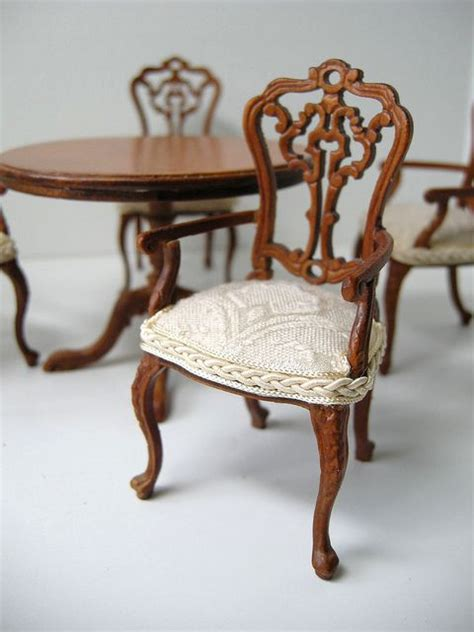 upholstered dining chair dollhouses miniatures 2