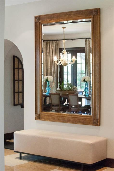 foyer mirror at home with kendra bench foyers and mirror