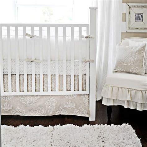 white nursery bedding sets white pebble moon baby bedding set and boutique