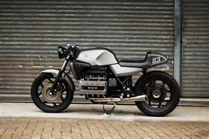 bmw k100 cafe racer brick motorcycles way2speed