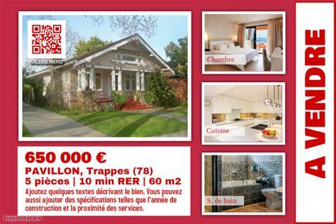 affiche maison a louer mod 232 le de flyer pour maison 224 louer postermywall fr
