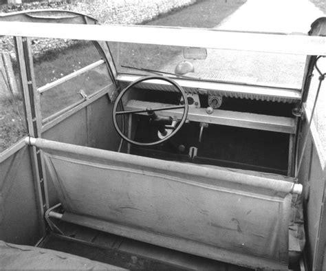 Prototype Cv by Citroen 2 Cv Prototyp 1937 Interiors