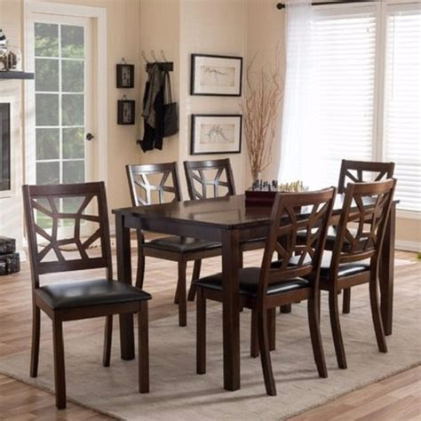 seven piece dining room set 7 piece dining room set under 500 that will surprise you
