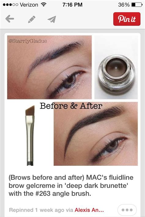 Mac Eyebrow Gel mac eyebrow gel makeup