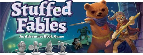 Stuffed Fables announcing stuffed fables news plaid hat