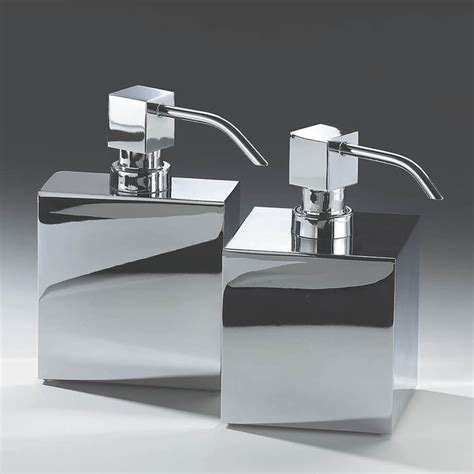 Modern Bathroom Soap Dispenser Harmony 414 Soap Dispenser In Chrome Modern Bathroom Accessories By Modo Bath