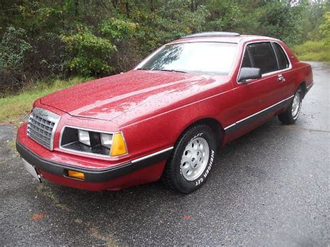 auto air conditioning service 1986 ford thunderbird lane departure warning buy used 1986 ford thunderbird elan efi 5 0 84k actual miles look in lusby maryland