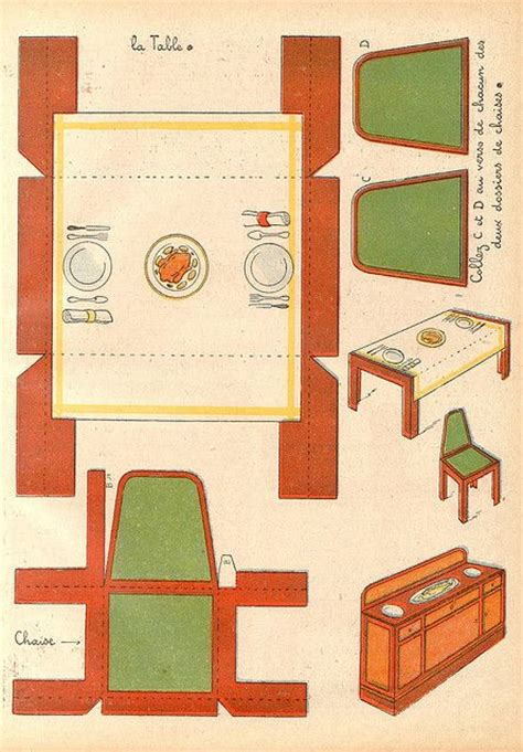 doll house template 17 best images about paper cut out doll house furniture on
