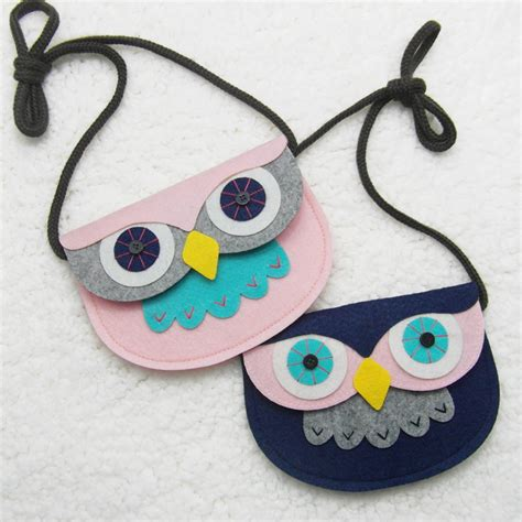 creative handmade owl bag for your princess