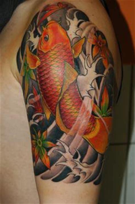 koi tattoo up or down koi tattoos design ideas pictures gallery