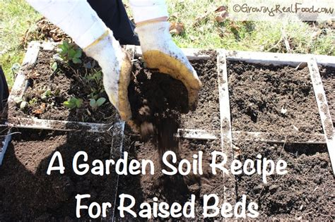 raised garden bed soil how to make garden soil for raised beds growing real food