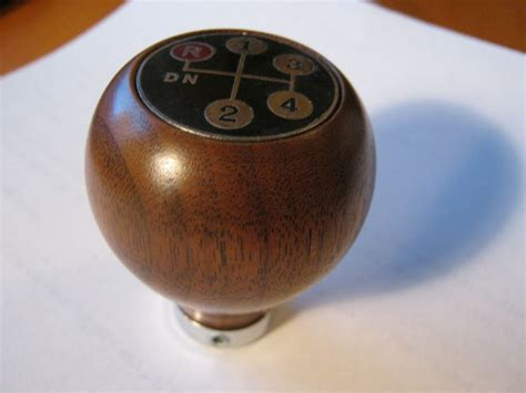 Wooden Gear Shift Knobs by Wooden 4 Speed Amco Gear Shift Knob Nos In Box Pelican