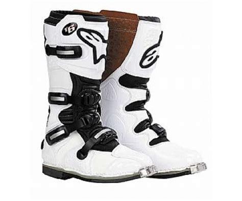 alpinestars tech 6 motocross boots alpinestars tech 6 motocross boots white