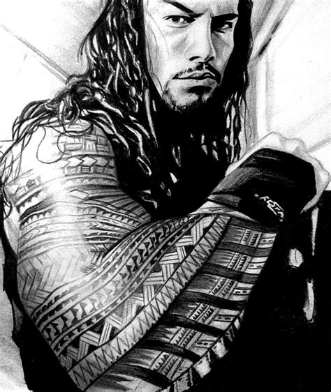 roman reigns tattoo reigns arts for arts sake