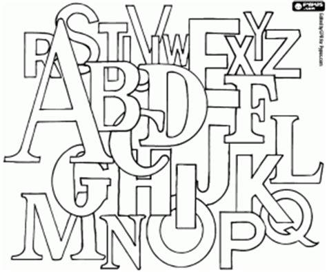 lettere dell alfabeto strane desenhos de letras alfabeto para colorir jogos de
