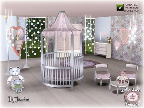 Wall Stickers For Childrens Bedroom empire sims 3 lola love nursery by jomsims tsr free