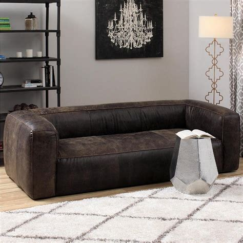 dark leather couch diva outback bridle dark brown leather sofa