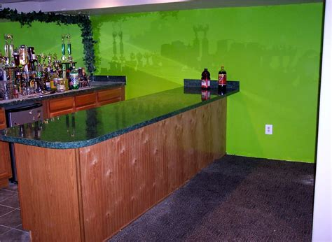 interactive bar top interior interactive basement decoration with basement