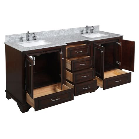 72 double vanity for bathroom kbc nantucket 72 quot double bathroom vanity set reviews