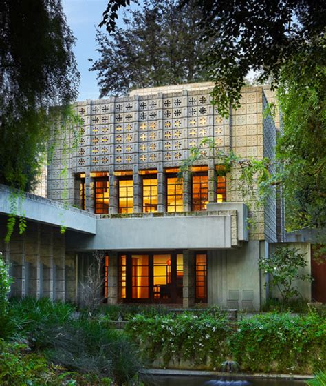 millard house frank lloyd wright s millard house has been listed for