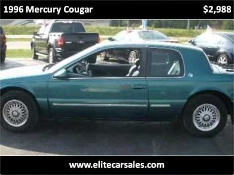1996 mercury cougar problems online manuals and repair information