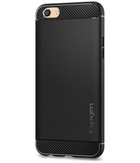 Spigen Iron Oppo F3 Plus oppo f3 plain cases spigen black plain back covers at low prices snapdeal india