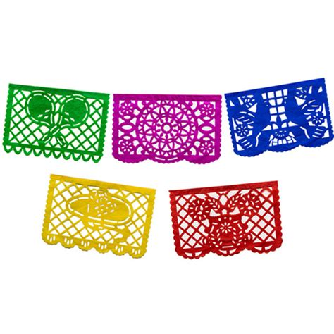 How To Make Mexican Paper Banners - papel picado mexican supplies at amols