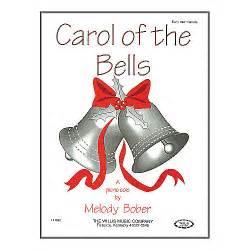 willis music carol of the bells early intermediate piano