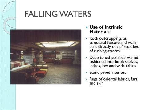 design concept of falling water frank l wright falling waters and key projects
