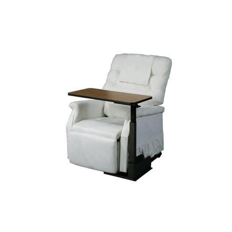 swing away chair table harding medical