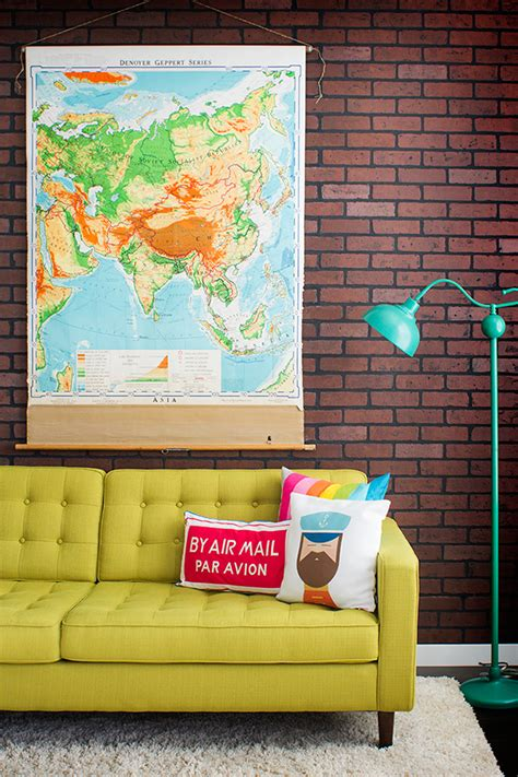 Sponge For Sofa Design with Eq3 Inhabit Eq3spotted Jag And Agata S Townhouse On Design Sponge