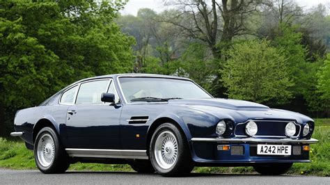 vintage aston martin aston martin v8 vantage full hd wallpaper and background