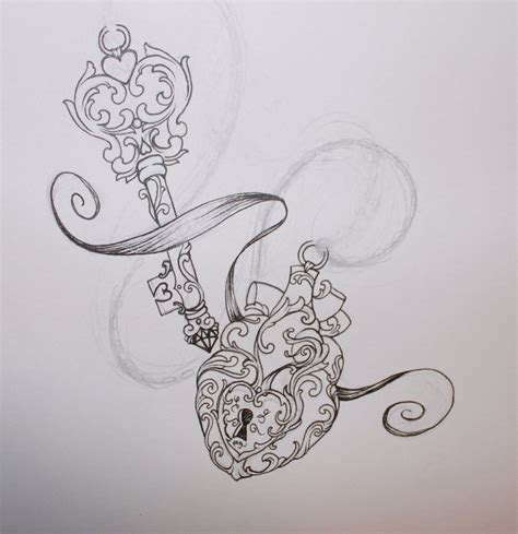 heart and key tattoo designs key tattoos designs ideas and meaning tattoos for you