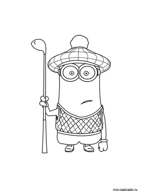 Minions coloring pages. Free printable Minions coloring pages.