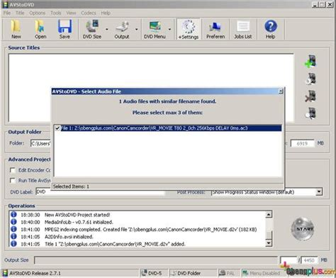 format video pada dvd convert minidvd disc ke format dvd file dengan software