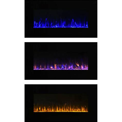 Tv Led Sinar Electric wall mounted electric fireplace insert tv led fireplaces 689995741930 ebay