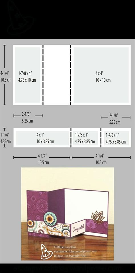 folded cards templates 273 best card fancy folds images on