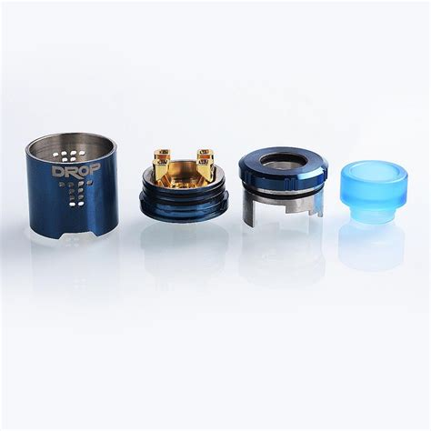 Sale Eleaf Lemo Drop Rda Rebuildable Atomizer 27ml authentic digiflavor drop bf rda blue rebuildable atomizer
