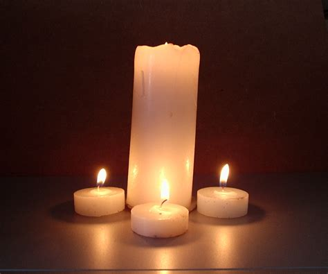 Big Candles One Big Three Small Candles By Darkenedheart Stock On