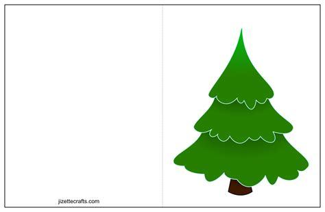 Printable Christmas Tree Cards Jizettecrafts Com Tree Template For Cards