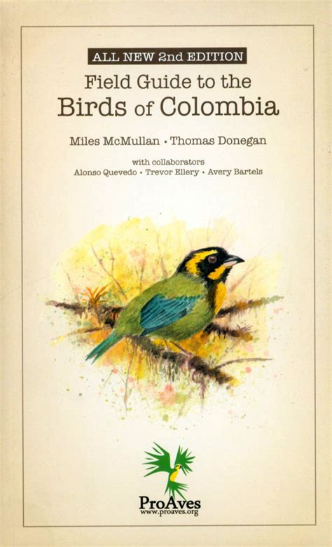 field guide california birds information field guide to the birds of colombia mcmullan m donegan alonso quevedo trevor