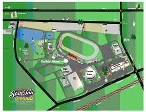 Nc State Fair Map by The Raleigh Jaycees Turkey Shoot