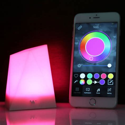 moto e4 notification light notti smart notification mood light for android and ios