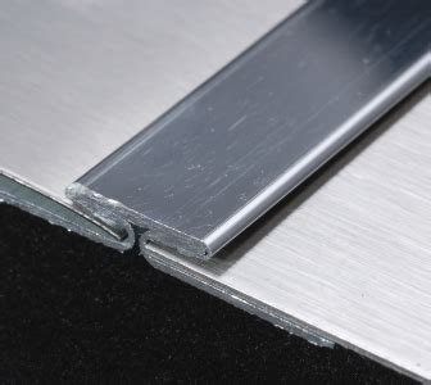 quot t quot divider molding stainless steel trim 48 quot