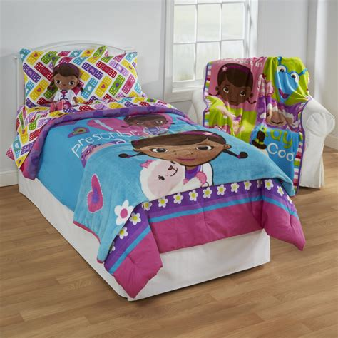 doc mcstuffins twin bed set disney doc mcstuffins girl s twin sheet set bandage