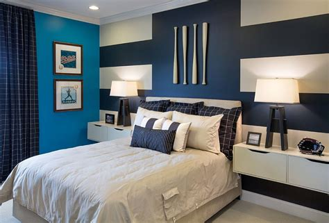 accent wall ideas bedroom 20 trendy bedrooms with striped accent walls