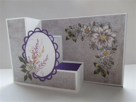 Paper Crafts Cards - tri step card by pandarina cards and paper crafts at