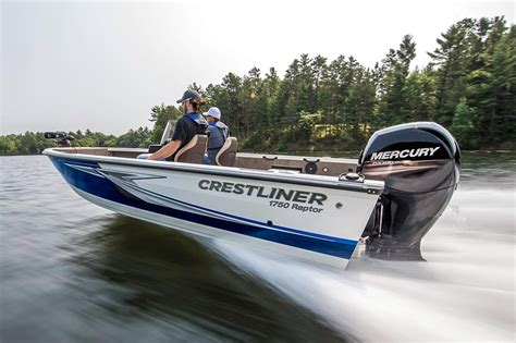 pioneer boats roscommon mi 2016 new crestliner 1750 raptor wt freshwater fishing boat