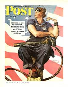 mary keefe model for rockwell s rosie the riveter dies